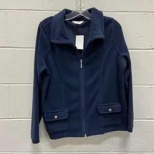 NEW Northern Reflections Ladies Navy Blue Sweater